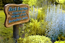 The Filberg Park Herb Garden in Comox, BC