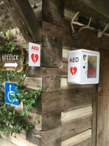 Public Access AED in Filberg Park