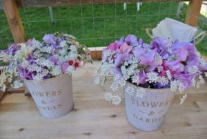 Filberg Cutting Garden Bouquets by donation
