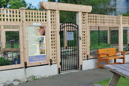 Improvements at the Liz Stubbs Cutting Garden in the Filberg Park are complete