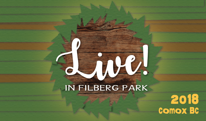 The all-Canadian, 2018 LIVE! In Filberg Park lineup announcement